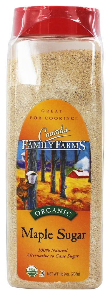 Coombs Family Farms - Organic Pure Maple Sugar - 25 oz.