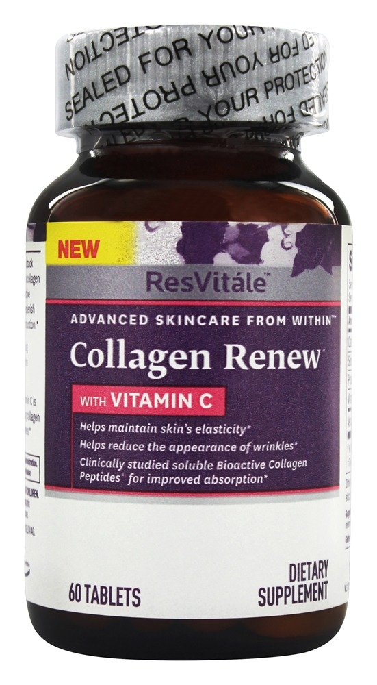 ResVitale - Collagen Renew with Vitamin C - 60 Tablets