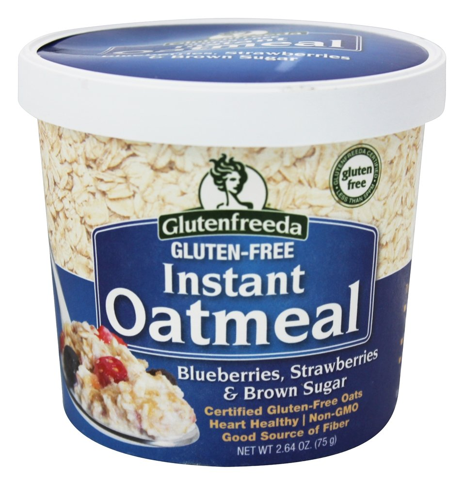 Glutenfreeda - Instant Oatmeal Cup Blueberries, Strawberries & Brown Sugar - 2.64 oz.