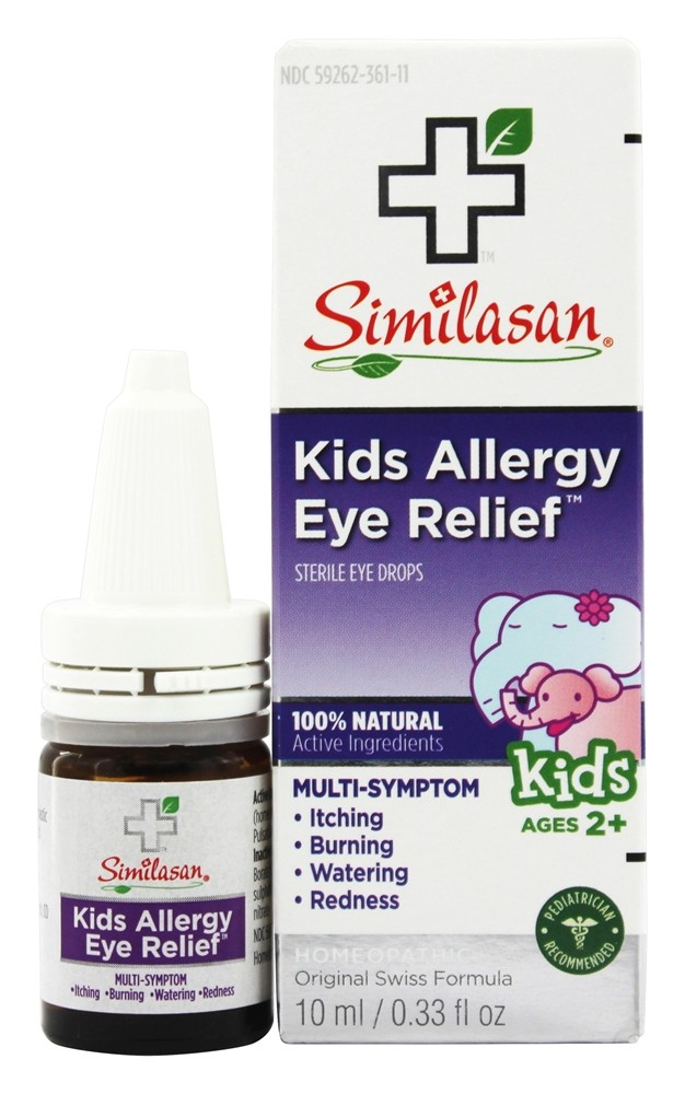 Similasan - Kids Allergy Eye Relief Eye Drops - 0.33 oz.