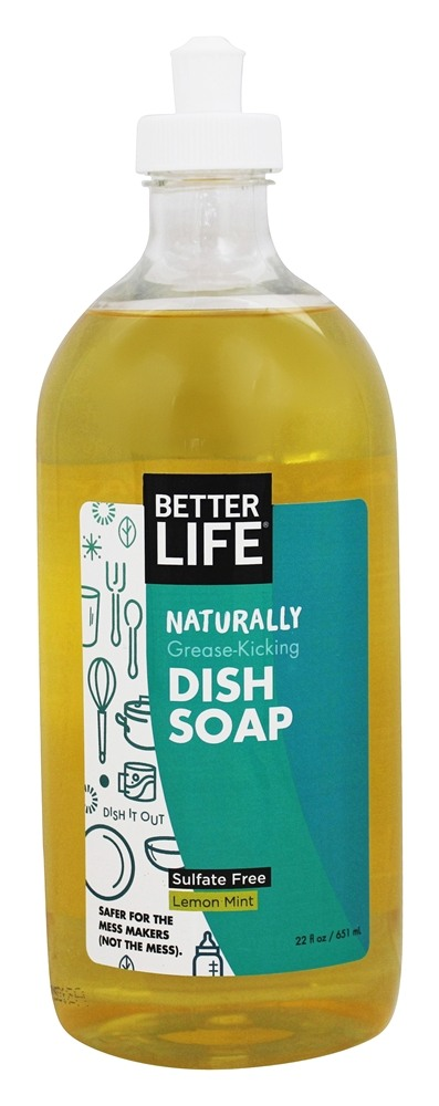 Better Life - Dish It Out Natural Dish Soap Clary Sage + Citrus - 22 oz.