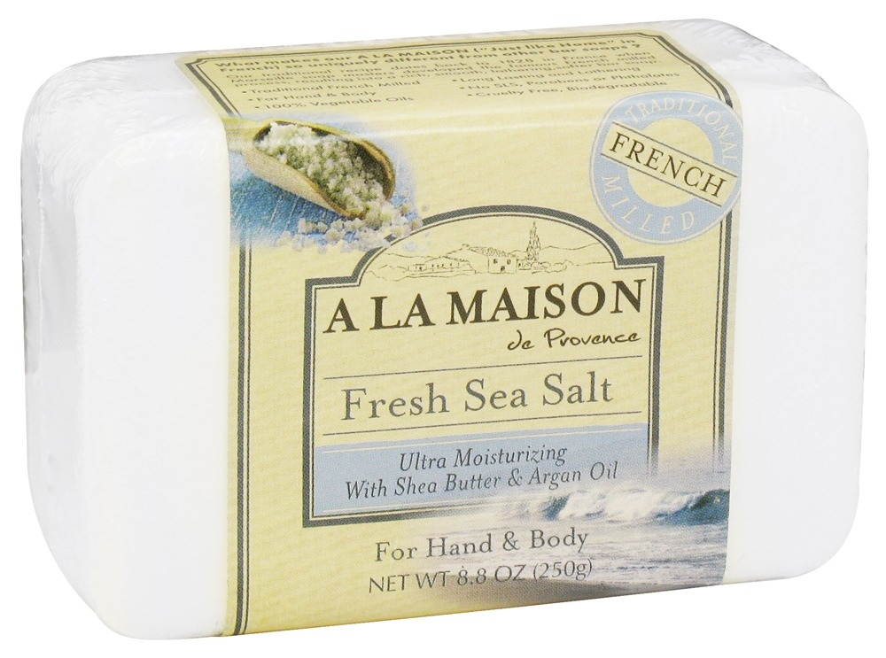 A La Maison - Traditional French Milled Bar Soap Fresh Sea Salt - 8.8 oz.