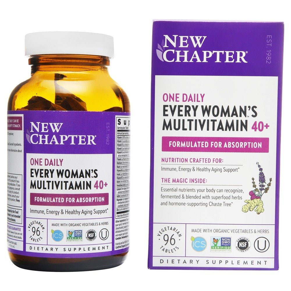 New Chapter - Every Woman's One Daily 40+ - 96 Tablets
