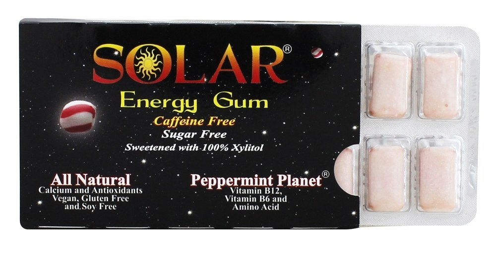 B Fresh - Solar Energy Gum Peppermint Planet - 12 Piece(s)
