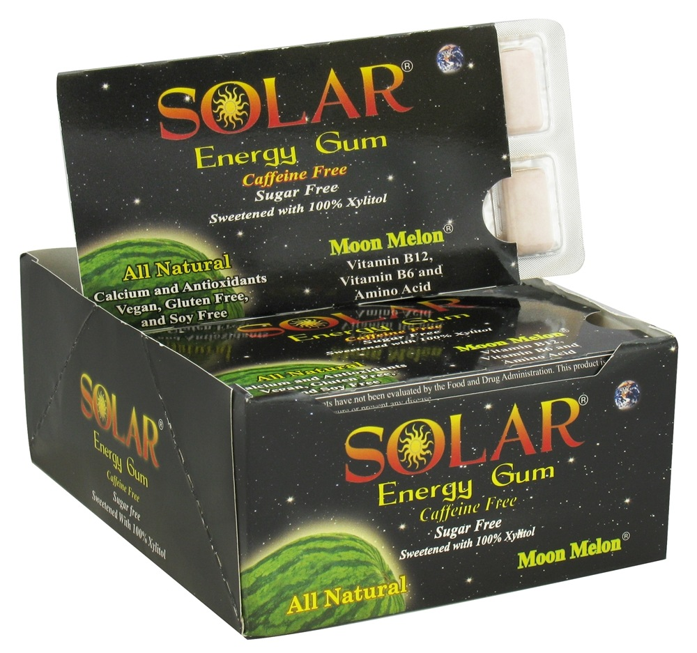 B Fresh - Solar Energy Gum Moon Melon - 12 Piece(s)