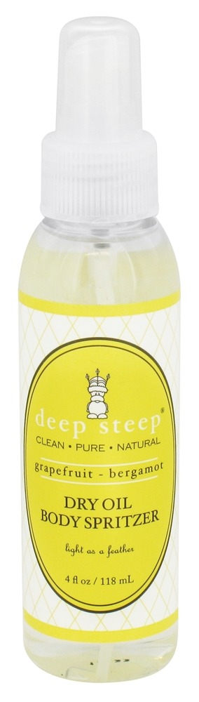 Deep Steep - Dry Oil Body Spritzer Grapefruit-Bergamot - 4 oz.