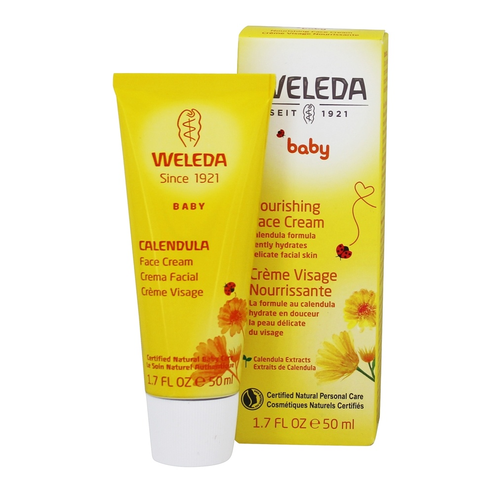 Weleda - Baby Calendula Face Cream - 1.7 oz.