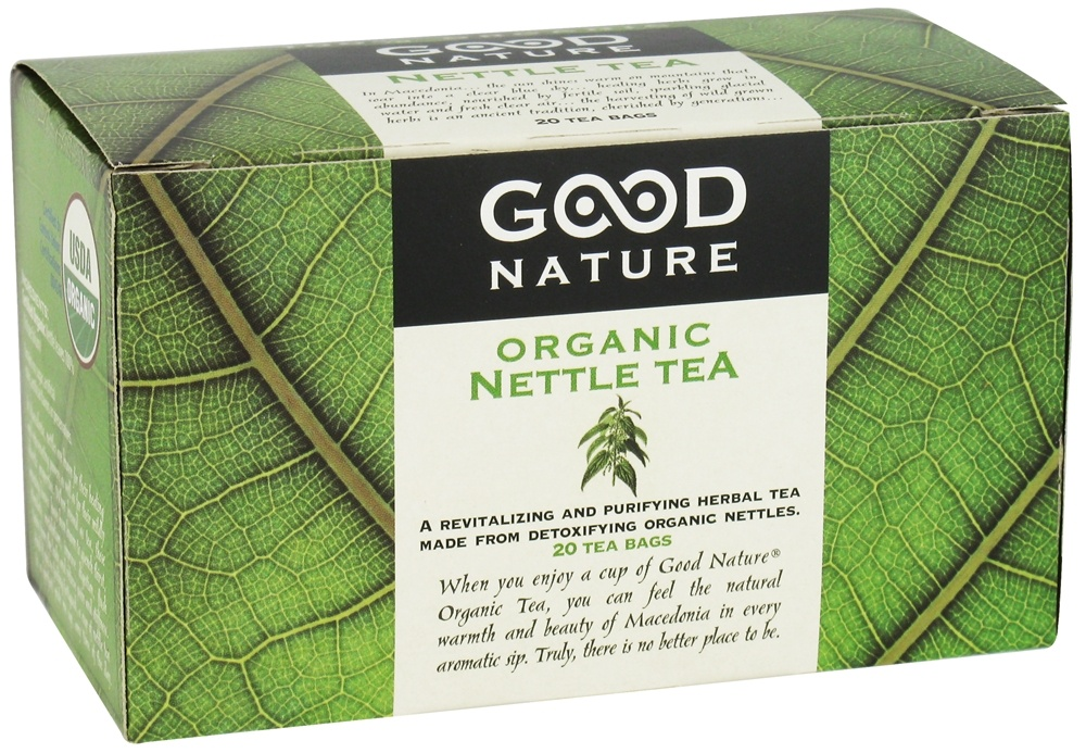 Good Nature Tea - Organic Tea Caffeine Free Nettle - 20 Tea Bags