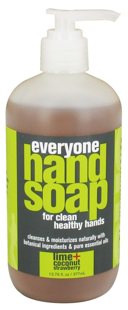 EO Products - Everyone Liquid Hand Soap Lime + Coconut with Strawberry - 12.75 oz.