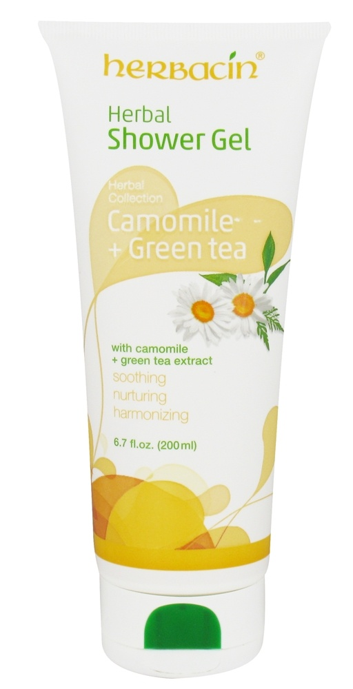 Herbacin - Herbal Collection Shower Gel Camomile + Green Tea - 6.7 oz.