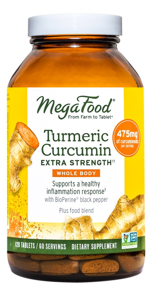 MegaFood - Turmeric Strength for Whole Body - 120 Tablets