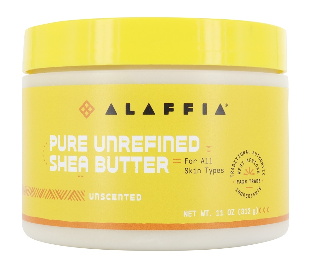 Alaffia - Everyday Shea Fair Trade Shea Butter Unscented - 11 oz.