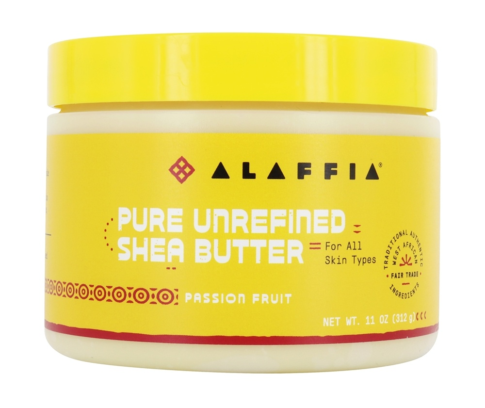 Alaffia - Everyday Shea Fair Trade Shea Butter Passion Fruit - 11 oz.