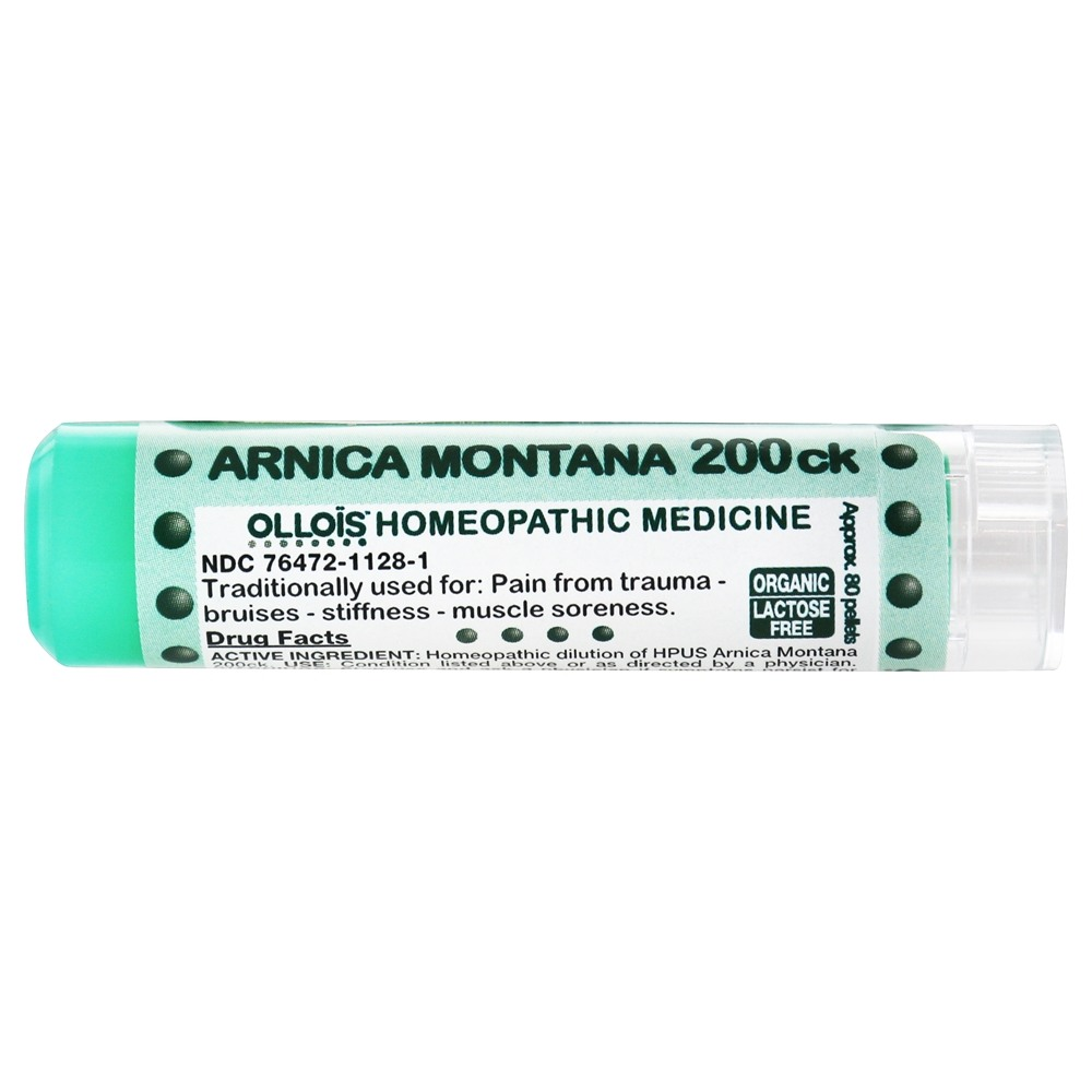 Ollois Homeopathic Medicine - Arnica Montana 200 CK - 80 Pellets