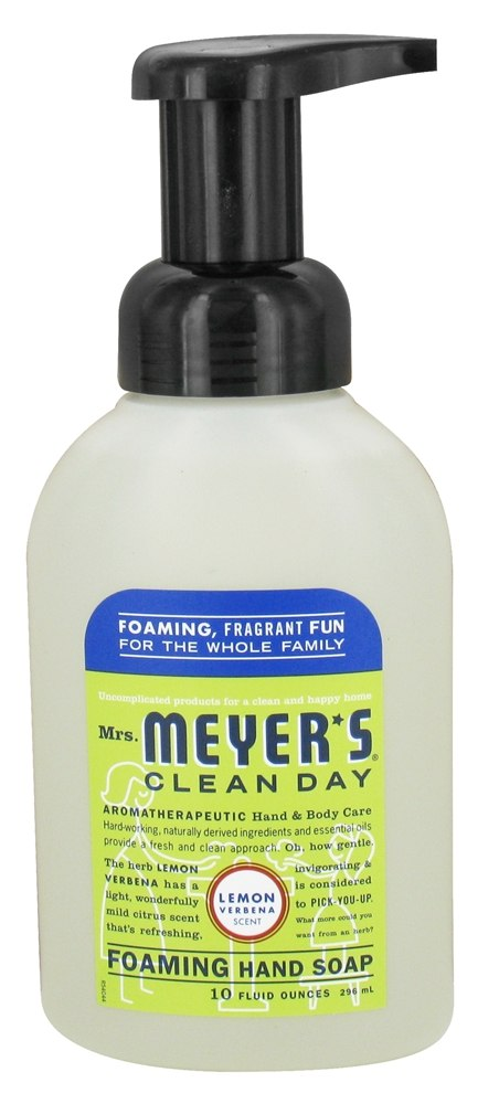 Mrs. Meyer's - Clean Day Foaming Hand Soap Lemon Verbena Scent - 10 oz.