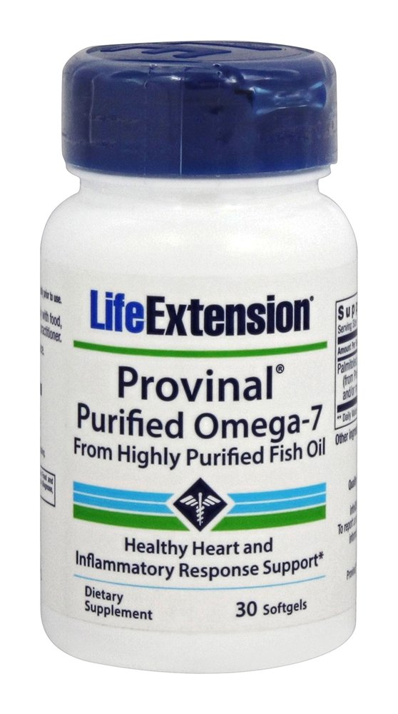 Life Extension - Provinal Purified Omega-7 210 mg. - 30 Softgels