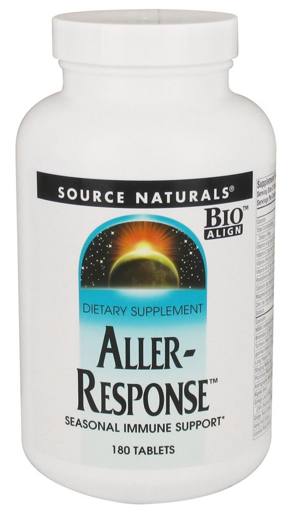 Source Naturals - Aller-Response - 180 Tablets