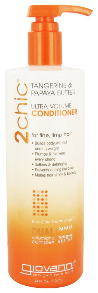 Giovanni - 2Chic Tangerine & Papaya Butter Ultra-Volume Conditioner - 24 oz.