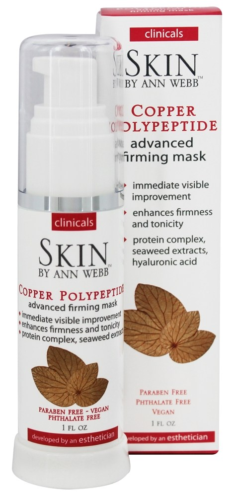 Skin by Ann Webb - Clinicals Copper Polypeptide Advanced Firming Mask - 1 oz.