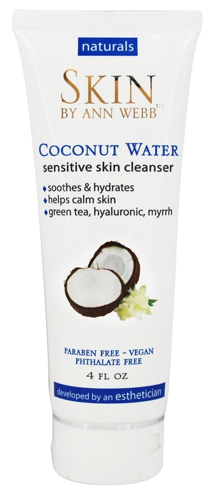 Skin by Ann Webb - Naturals Coconut Water Sensitive Skin Cleanser - 4 oz.