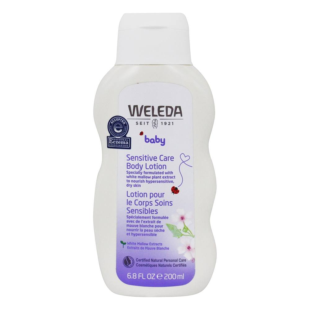 Weleda - Baby Derma White Mallow Body Lotion Fragrance Free - 6.8 oz.