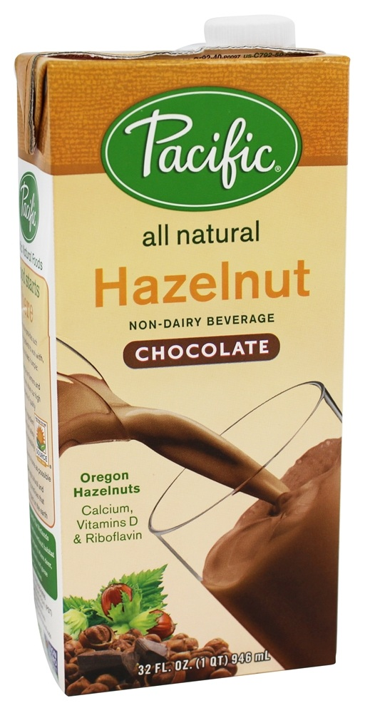 Pacific Natural Foods - All Natural Hazelnut Milk Chocolate - 32 oz.