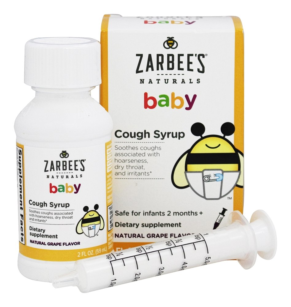 Buy Zarbee S Baby Cough Syrup Natural Grape Flavor 2
