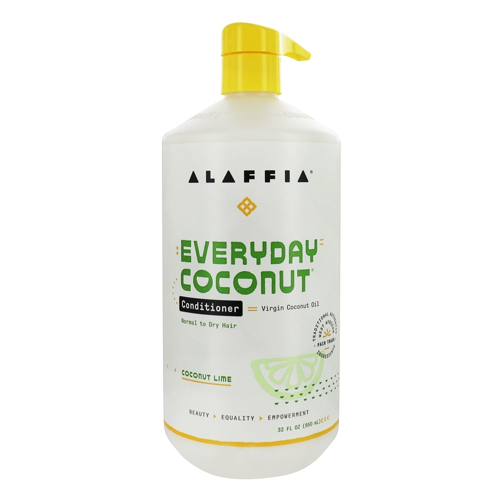 Alaffia - Everyday Coconut Conditioner Ultra Hydrating Coconut Lime - 32 oz.