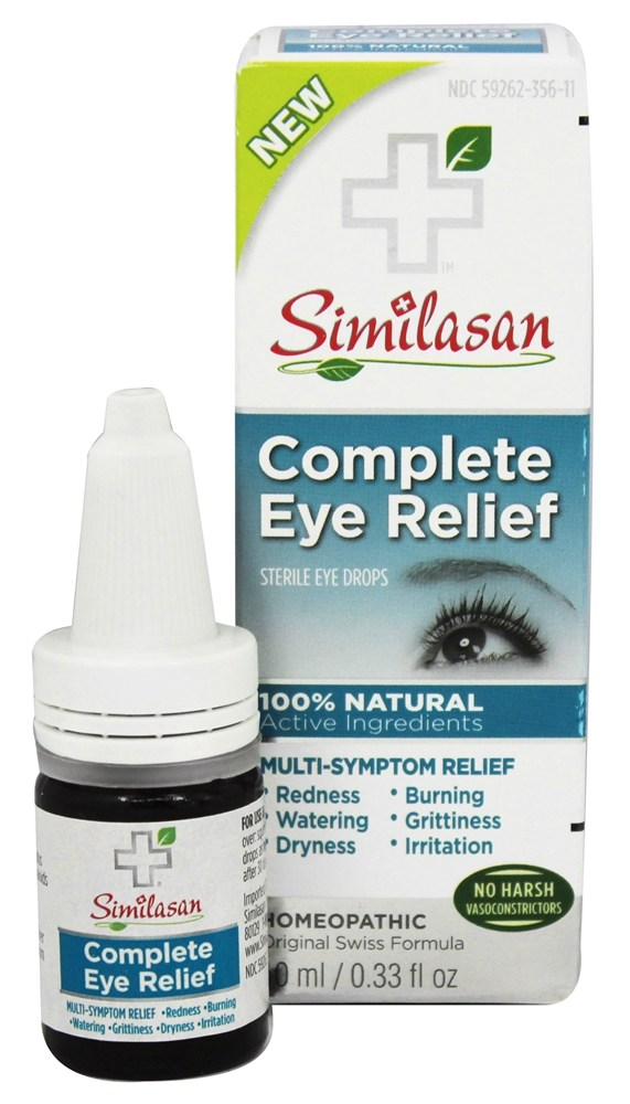 Similasan - Complete Eye Relief Sterile Eye Drops - 0.33 oz.