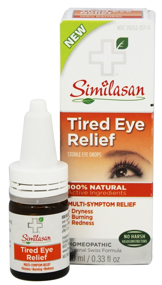 Similasan - Tired Eye Relief Sterile Eye Drops - 0.33 oz.