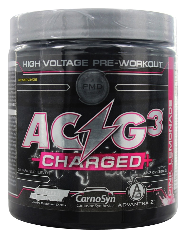 NDS Nutrition - PMD Platinum ACG3 Charged+ Pink Lemonade - 12.7 oz.