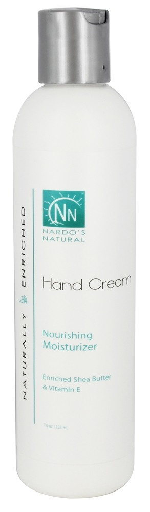 Nardo's Natural - Hand Cream Vanilla - 8 oz.