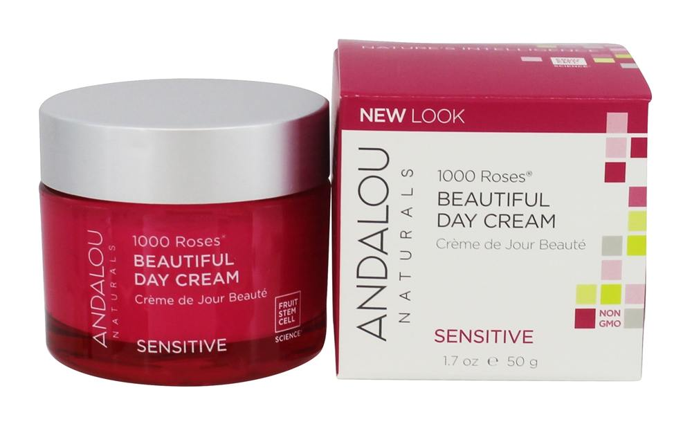 Andalou Naturals - 1000 Roses Beautiful Day Cream - 1.7 oz.