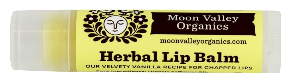 Moon Valley Organics - Herbal Lip Balm Vanilla - 0.15 oz.