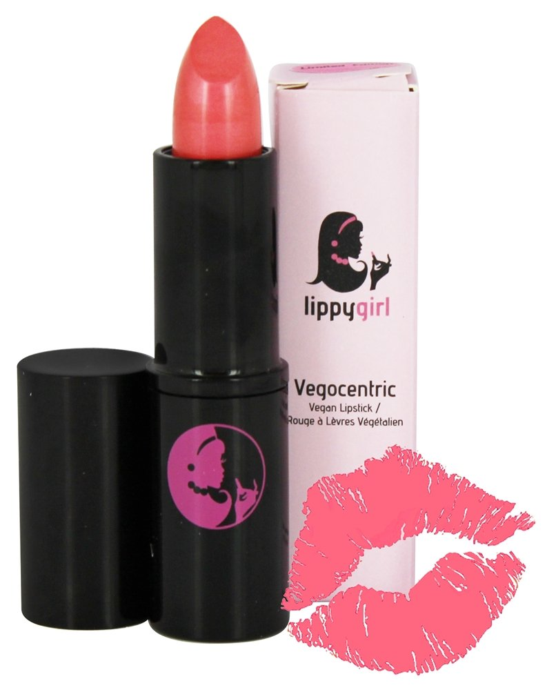 Lippy Girl - Vegocentric Organic Vegan Lipstick Coral Me Maybe - 5 Grams