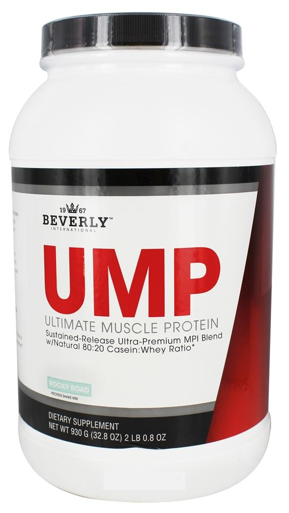 Beverly International - Ultimate Muscle Protein Rocky Road - 2.8 lbs.