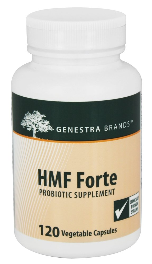 Genestra - HMF Forte Probiotic Supplement - 120 Vegetarian Capsules