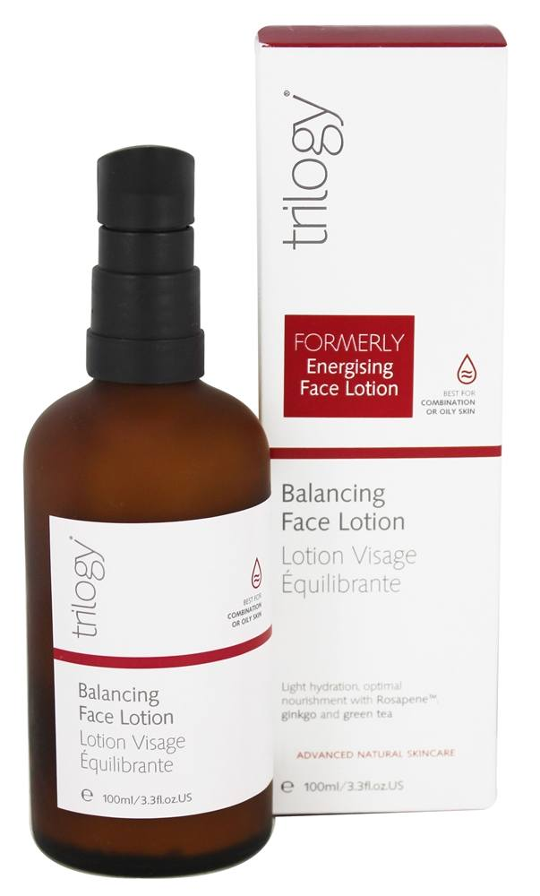 Trilogy - Balancing Face Lotion - 3.3 oz.
