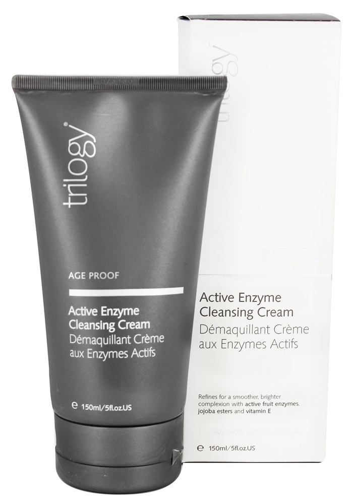 Trilogy - Active Enzyme Cleansing Cream - 5 oz.