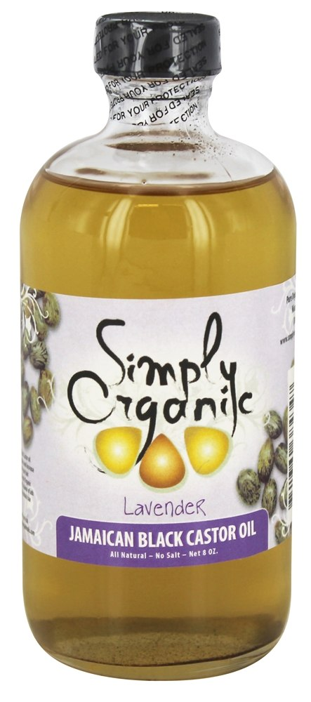 Simply Organic Oils - Jamaican Black Castor Oil Lavender - 8 oz.