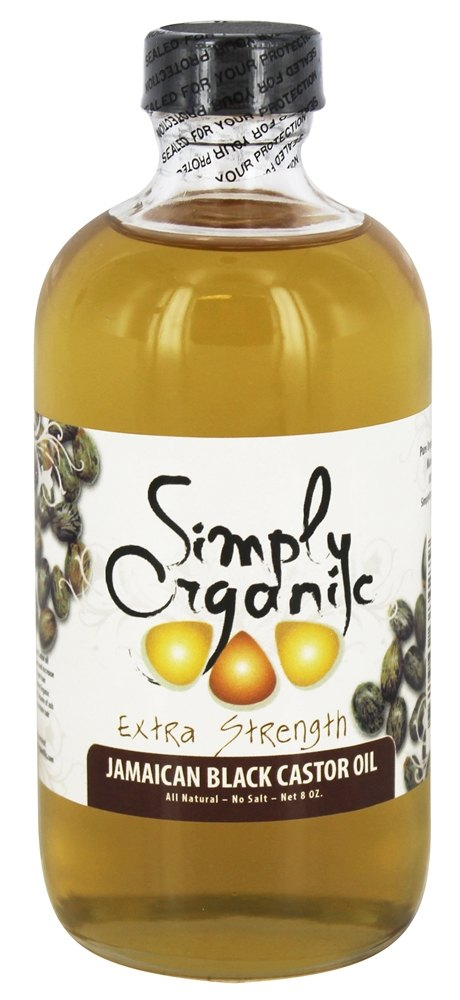 Simply Organic Oils - Jamaican Black Castor Oil Extra Strength - 8 oz.