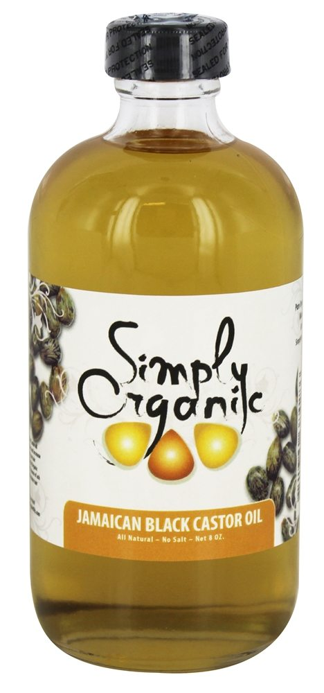 Simply Organic Oils - Jamaican Black Castor Oil - 8 oz.