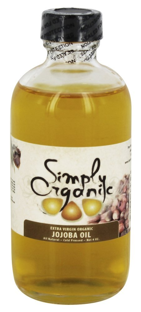 Simply Organic Oils - Extra Virgin Organic Jojoba Oil - 4 oz.