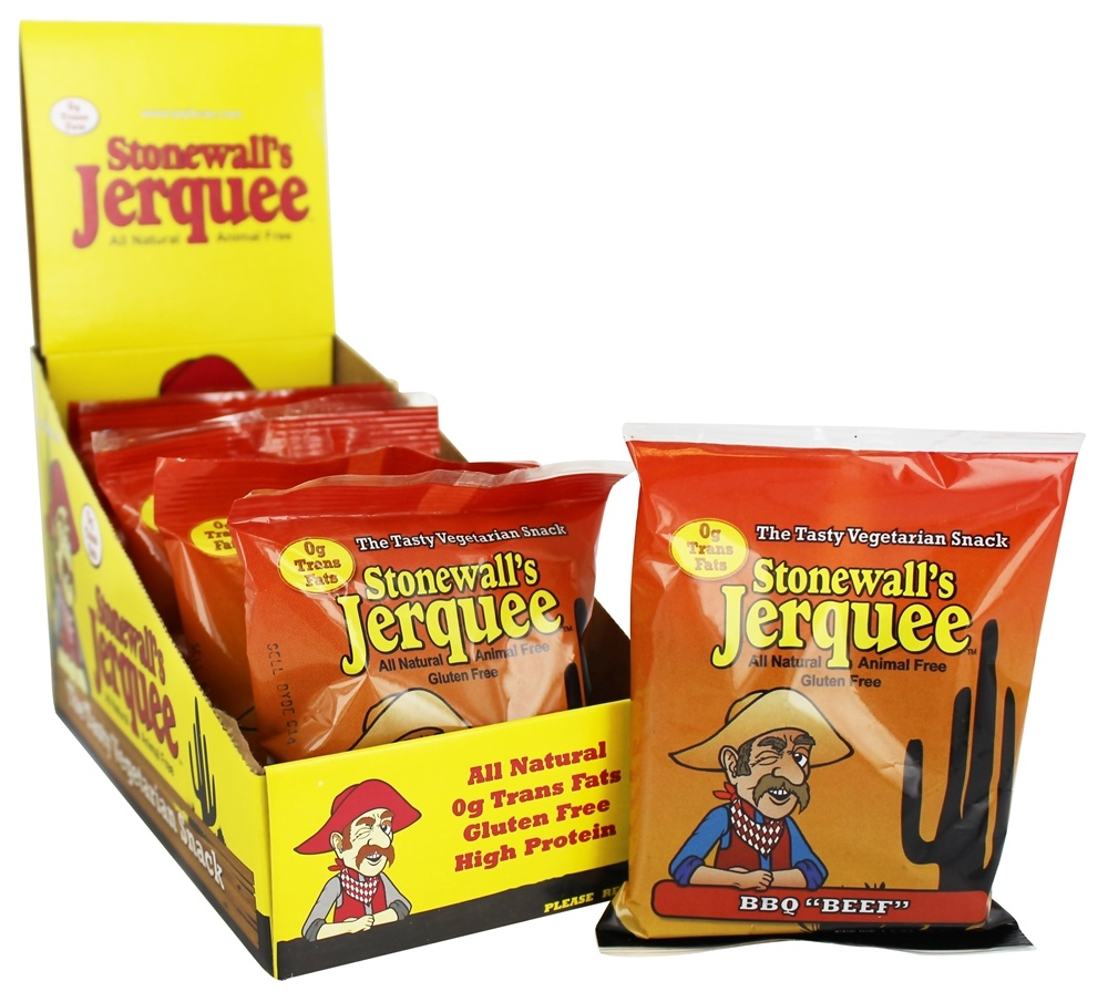 Stonewall's - All Natural Animal Free Jerquee BBQ Beef - 1.5 oz.