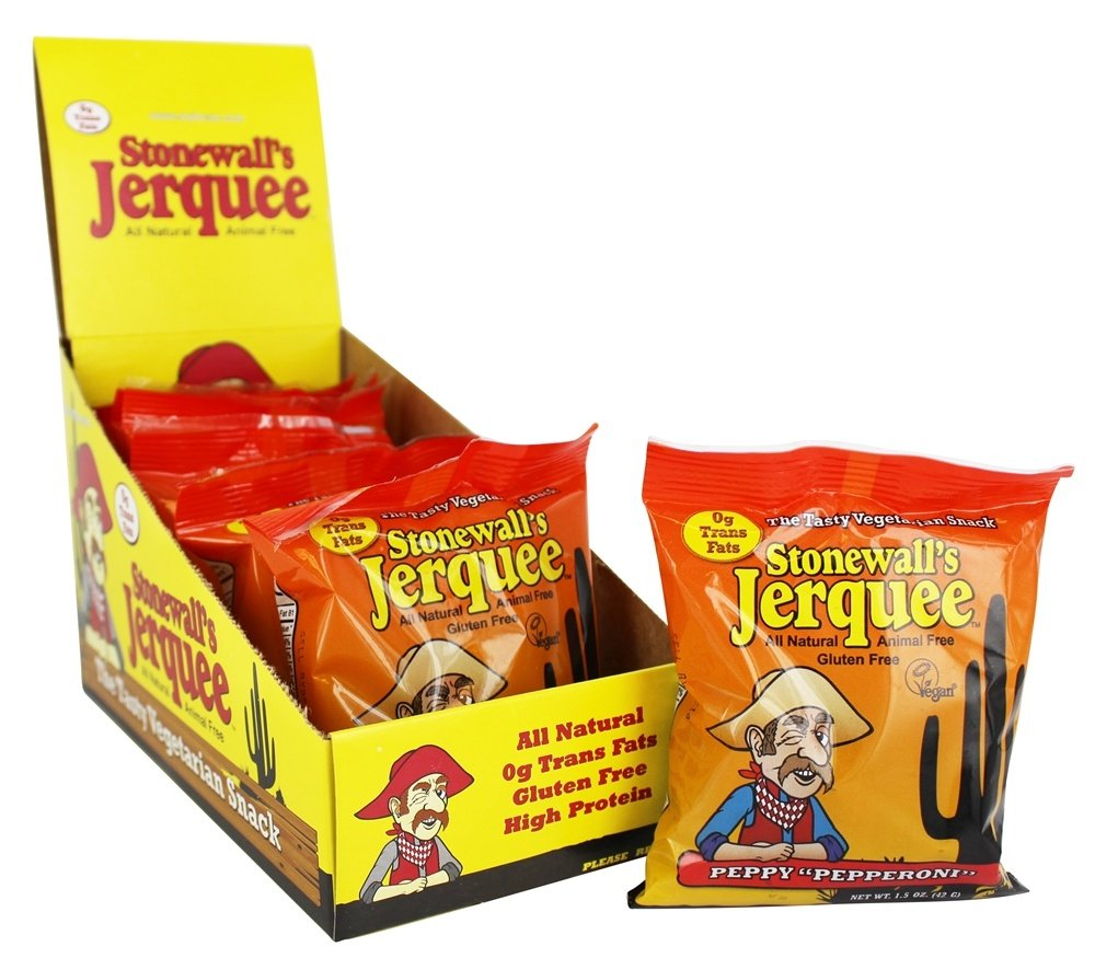 Stonewall's - All Natural Animal Free Jerquee Peppy Pepperoni - 1.5 oz.