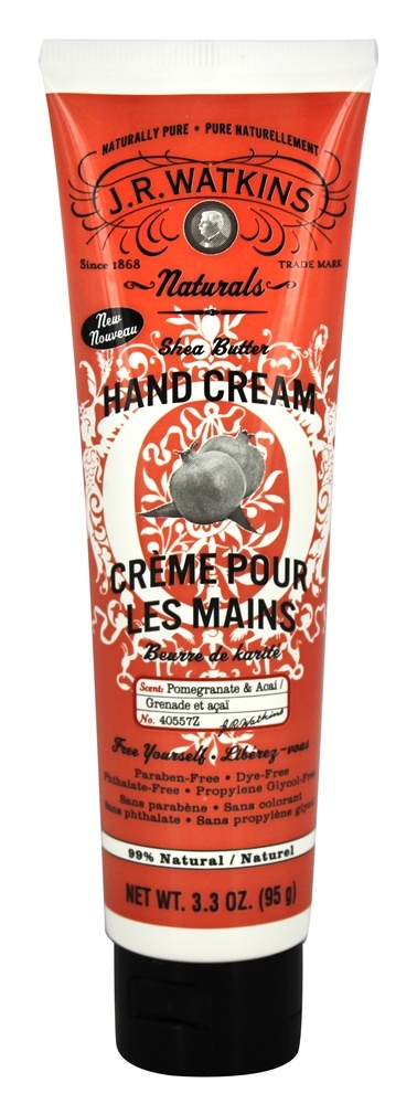 JR Watkins - Hand Cream Pomegranate & Acai - 3.3 oz.