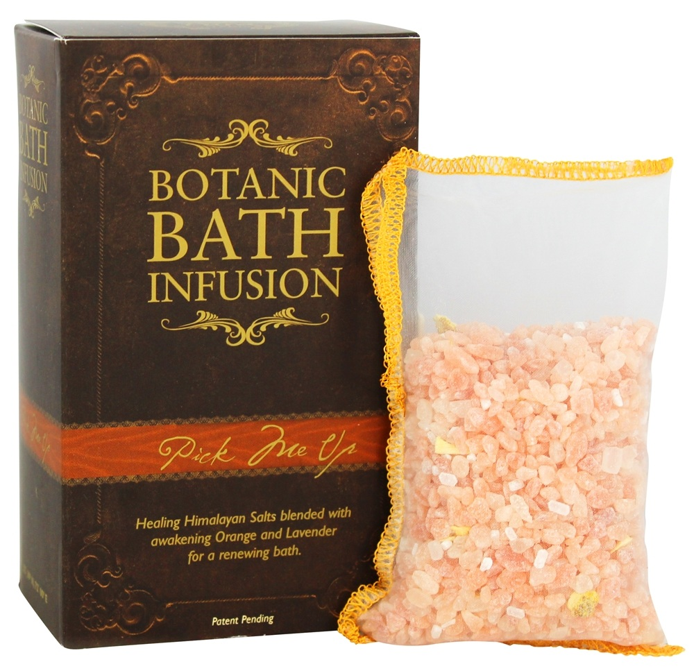 Pura Botanica - Bath Infusion Salts Pick Me Up - 3 x 3.6 oz. Bags