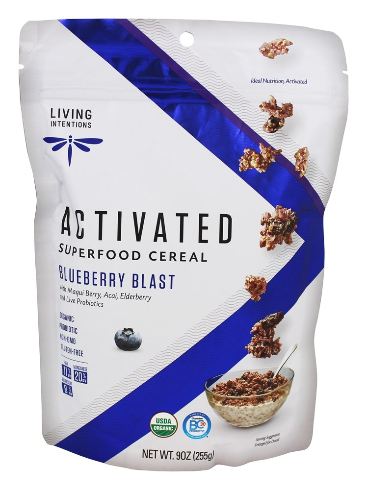 Living Intentions - Superfood Cereal Acai Blueberry - 9 oz.