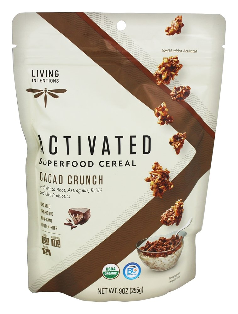Living Intentions - Superfood Cereal Cacao Crunch - 9 oz.