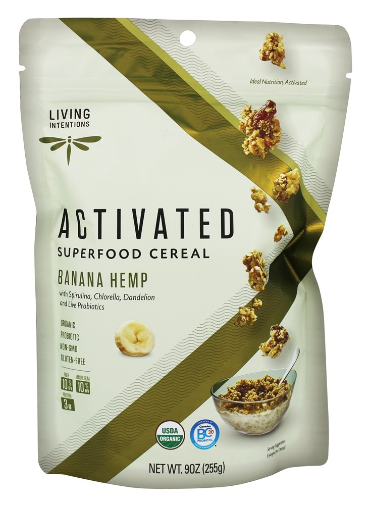 Living Intentions - Superfood Cereal Hemp & Greens - 9 oz.